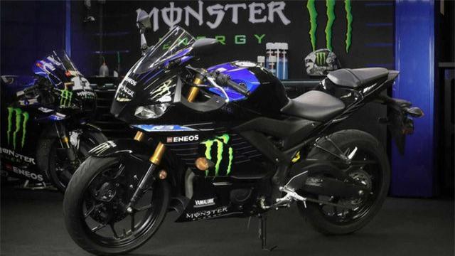 Yamaha YZF-R3 Monster Energy MotoGP Edition 2021 chính thức ra mắt - Ảnh 8.