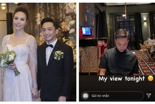 Có con rồi, Đàm Thu Trang vẫn mê chồng hết nấc khi tuyên bố trong mắt chỉ có ông xã