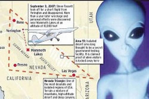 Hung thủ giấu mặt ở 'Tam giác quỷ' Nevada?