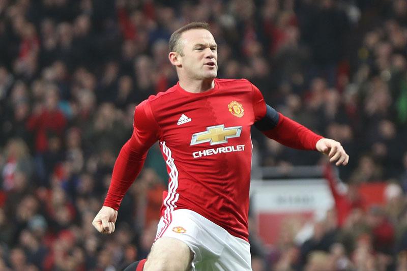 Tiền đạo: Wayne Rooney.