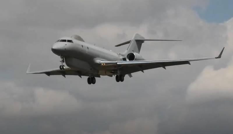Máy bay trinh sát điện tử Sentinel R.1 của Không lực Hoàng gia Anh. Ảnh: Topwar.