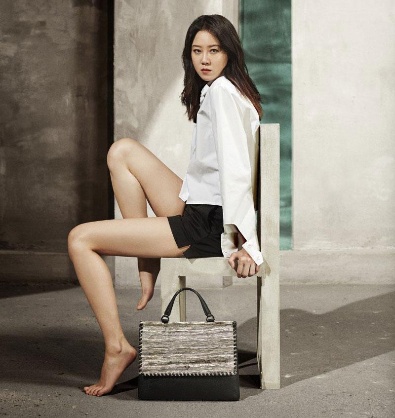 =6. Gong Hyo-jin. Chiều cao: 1,72m.