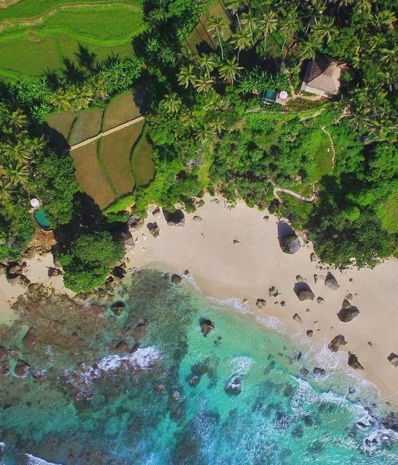 4. Bãi biển Nihiwatu, Indonesia.