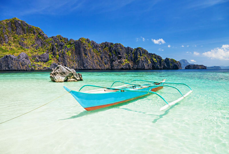 7. Bãi biển El Nido, Philippines.