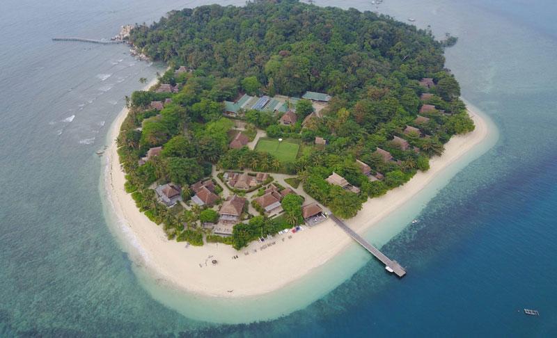 8. Bãi biển ở đảo Nikoi, Indonesia.