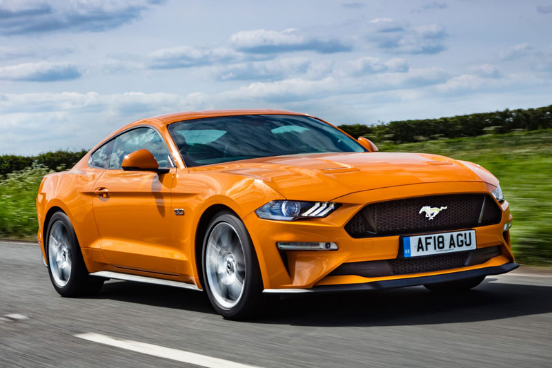 5. Ford Mustang.