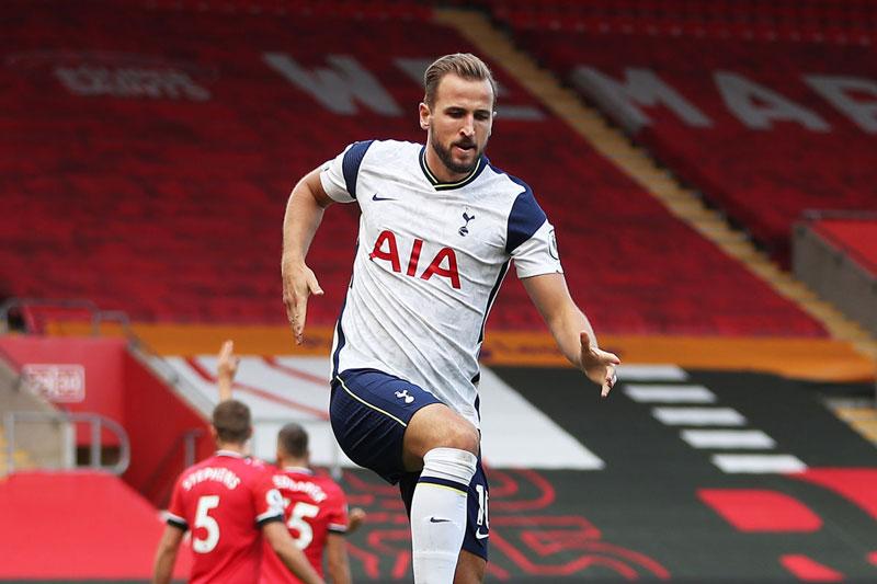 =5. Harry Kane (Tottenham, giá trị hiện nay: 108 triệu bảng, mức giảm giá từ ngày 1/1/2020 đến nay: 27 triệu bảng).