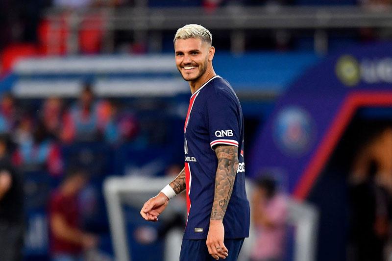 8. Mauro Icardi (Paris Saint-Germain, định giá chuyển nhượng: 54 triệu bảng).