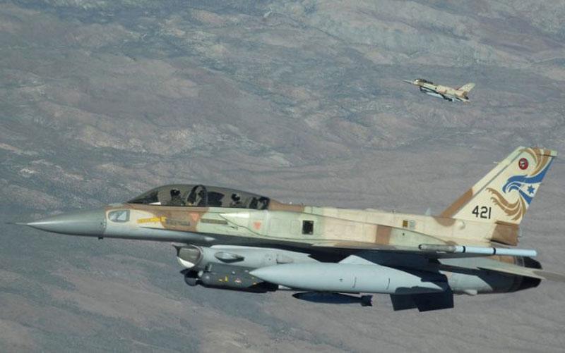 """Máy bay chiến đấu của Israel """"rình rập"""" biên giới Syria-Lebanon"""