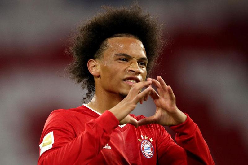 =5. Leroy Sane (Bayern Munich, giá trị hiện nay: 63 triệu bảng, mức giảm giá từ ngày 1/1/2020 đến nay: 27 triệu bảng).
