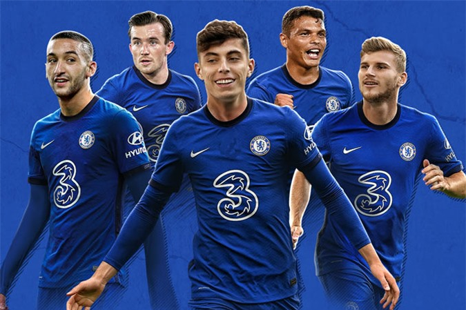 Chelsea đã mang về rất nhiều tân binh ấn tượng trong kỳ chuyển nhượng Hè 2020