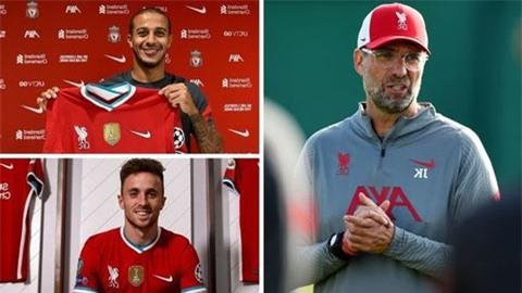 Liverpool sở hữu đội hình đắt giá nhất thế giới sau khi mua Thiago và Jota