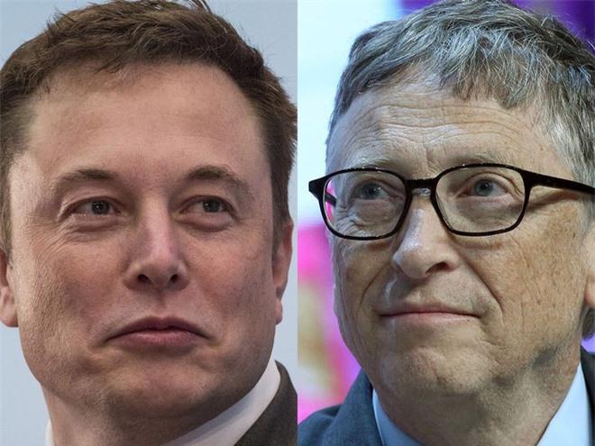 Elon Musk che Bill Gates anh 1