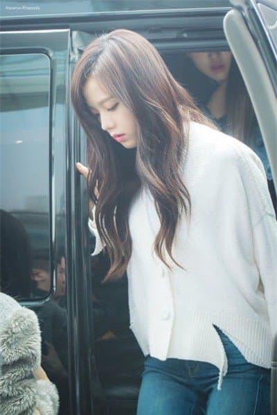 Jisoo nữ thần sân bay 7