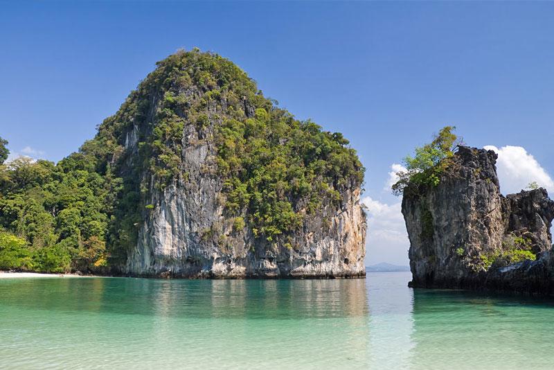 1. Bãi biển ở đảo Ko Hong, Thái Lan.
