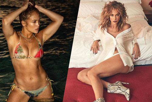 Thân hình 'bốc lửa' ở tuổi 51 của Jennifer Lopez