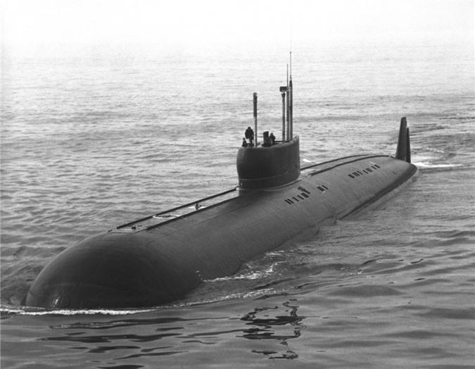 Tàu ngầm K-222. Ảnh: Wikipedia