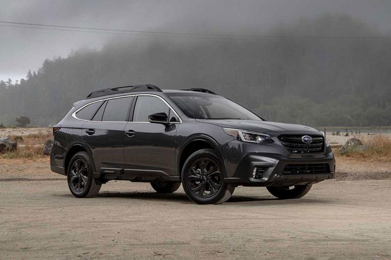 7. Subaru Outback 2020 (giá khởi điểm: 26.645 USD, số chỗ ngồi tối đa: 5).