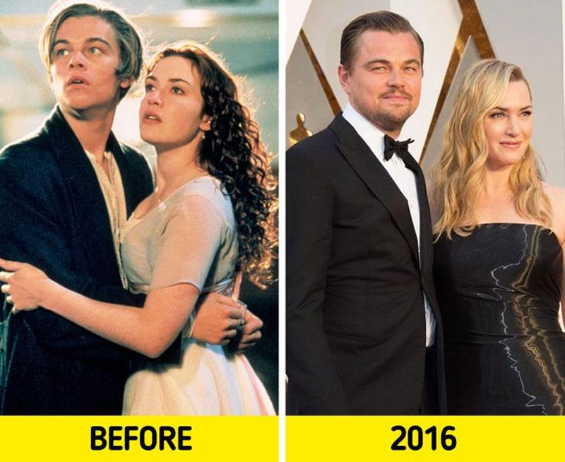 Các diễn viên phim Titanic đã thay đổi như thế nào sau 23 năm công chiếu?