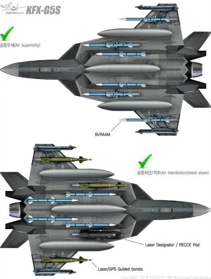 Dự án KF-X được đánh giá là cực kỳ tham vọng; Nguồn: bbs.tiexue.net