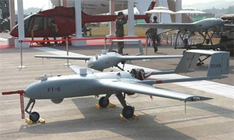 Han Quoc dung UAV thay the binh si tren chien truong