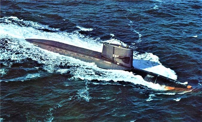 Chiếc USS George Washington; Nguồn: wikipedia.org