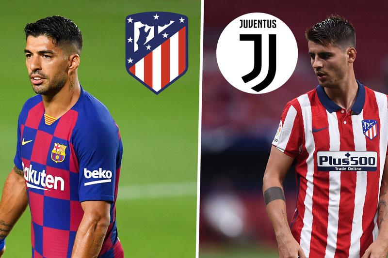 Chuyển nhượng: Suarez bất ngờ tới Atletico, Morata sang Juventus kiểm tra y tế