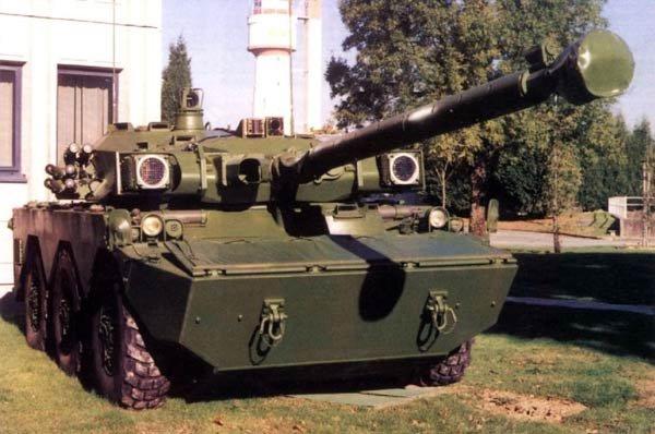 Xe tăng bánh lốp Pháp thử nghiệm lắp Shtora-1 của Nga