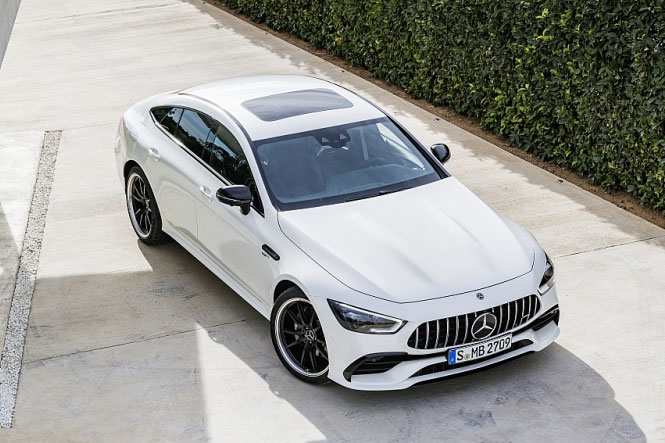 Cận cảnh Mercedes-AMG GT 53 4MATIC+ giá 6,299 tỷ đồng tại Việt Nam