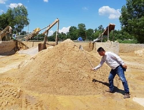 Thừa Thiên Huế: Ứng dụng khoa học công nghệ để sản xuất cát nhân tạo thay thế cát tự nhiên