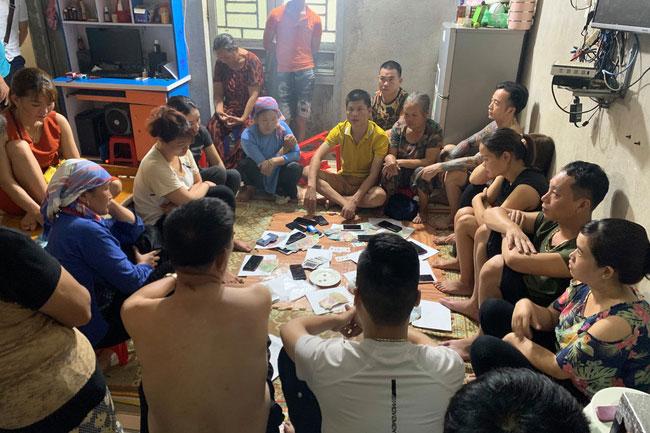 Lào Cai: Triệt phá tụ điểm đánh bạc dưới hình thức xóc đĩa