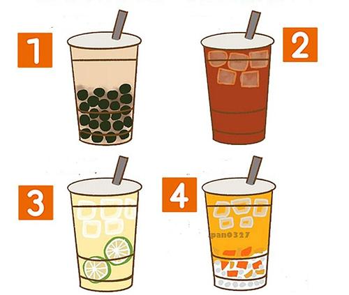 Bạn chon ly trà nào?
