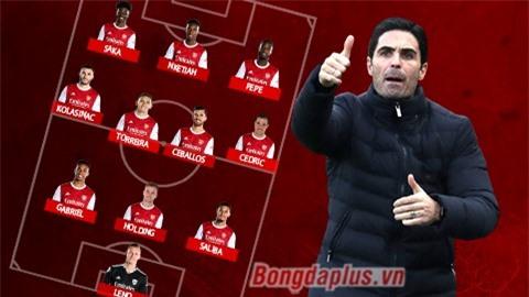 Đội hình dự kiến trận Leicester - Arsenal: Aubameyang ngồi ngoài, Pepe đá chính?