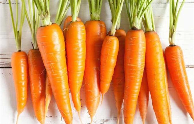 Cà rốt thực phẩm vàng tốt cho bé