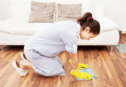 Chồng không nên để vợ làm việc nhà khi mang thai