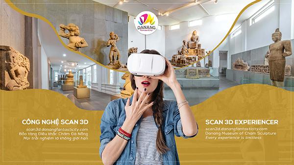 Đà Nẵng: Thí điểm trải nghiệm Scan 3D tại Bảo tàng duy nhất trên thế giới về nền văn minh Chăm Pa