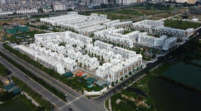 Có khoảng 500 căn nhà thấp tầng được Công ty CP Bitexco xây dựng khi chưa có báo cáo đánh giá tác động môi trường.