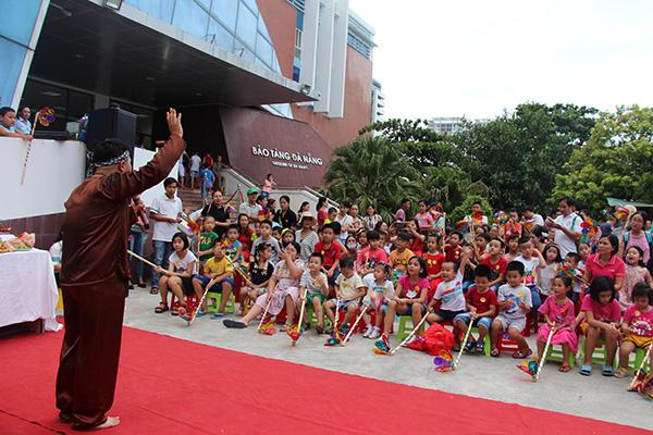 Chương trình chào đón Tết Trung thu được Bảo tàng Đà Nẵng tổ chức hàng năm cho các em thiếu nhi