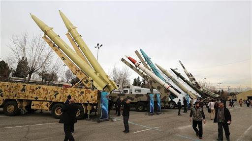 Mỹ cáo buộc Iran đang hợp tác với Triều Tiên để chế tạo tên lửa tầm xa. Ảnh: Al Masdar News.