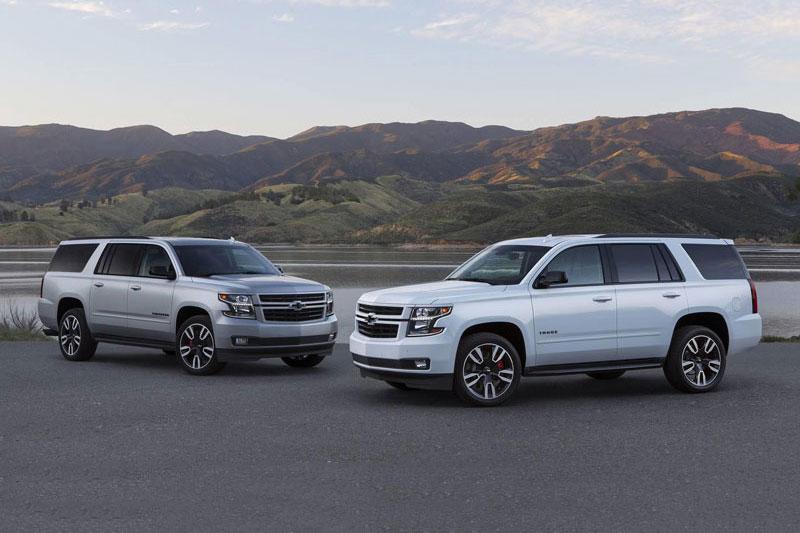3. Chevrolet Tahoe 2020 (đánh giá độ tin cậy: 5/5, giá khởi điểm: 49.000 USD).