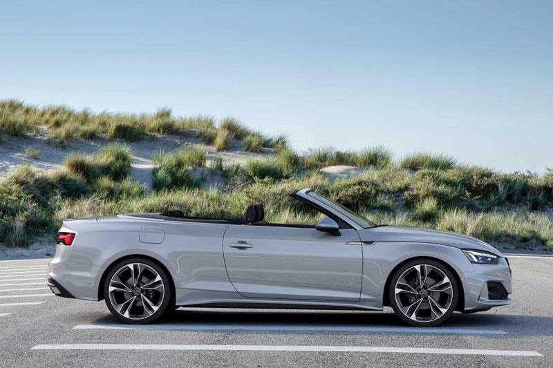 5. Audi A5 Cabriolet 2020 (giá khởi điểm: 49.900 USD).