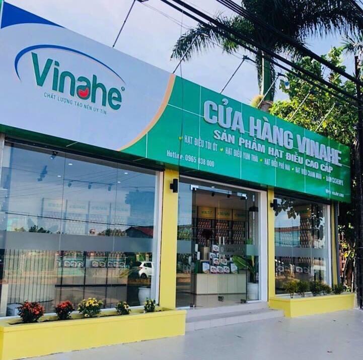 Cửa hàng Vinahe tại phường Phước Bình, thị xã Phước Long, tỉnh Bình Phước.