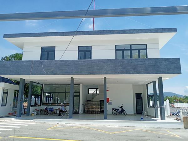 Điểm đầu cuối xe buýt tại khu vực Trung tâm Hành chính huyện Hòa Vang đã hoàn thành 99% khối lượng...