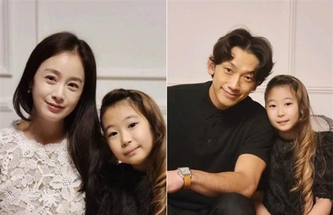 Rain và Kim Tae Hee trong tiệc sinh nhật con gái.