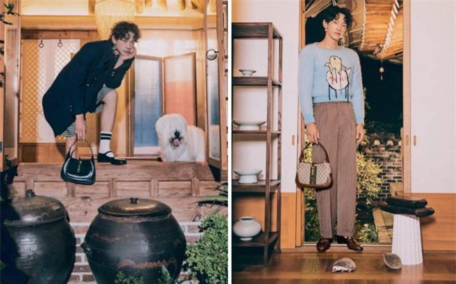 Rain chụp hình quảng cáo mới và gây ra nhiều tranh cãi, vì ngoại hình như ajuma.