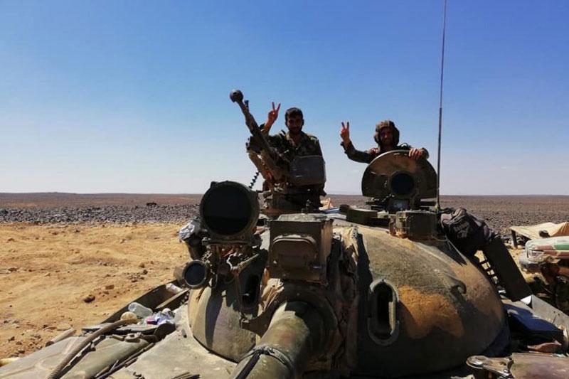 Quân đội Syria tấn công căn cứ phòng thủ thánh chiến ở miền Nam Idlib