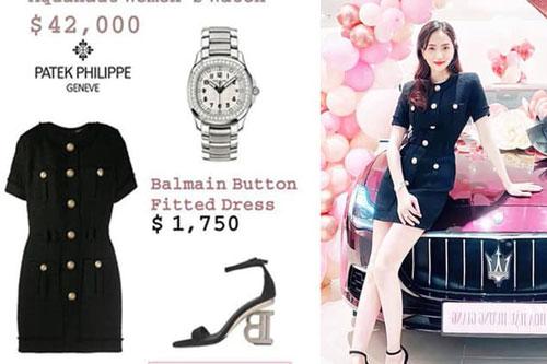 Hẹn hò Matt Liu, Hoa hậu Hương Giang liên tục dát hàng hiệu lên người, điểm qua cũng đáng giá cả gia tài