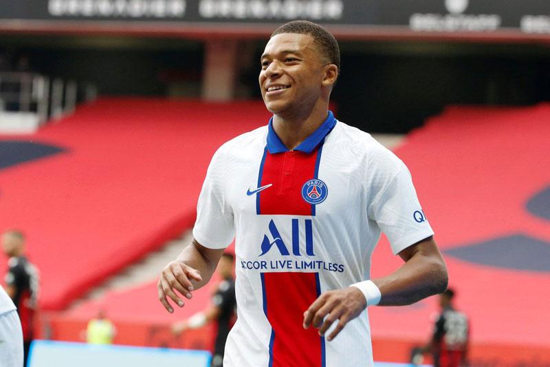 1. Kylian Mbappe (PSG, 21 tuổi, định giá chuyển nhượng: 162 triệu bảng).