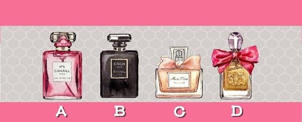 Bạn chọn chai nước hoa nào?