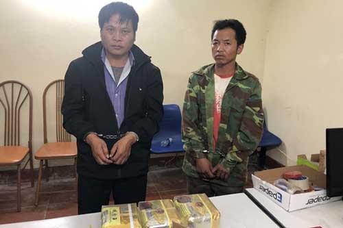 Bắt 2 đối tượng cùng 3kg ma túy đá ở Sơn  La